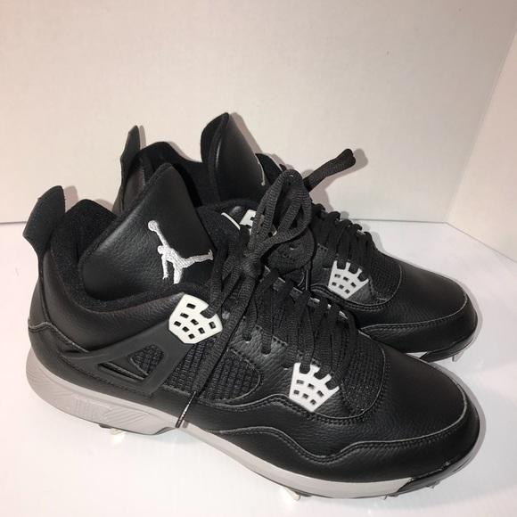 c4eef85015d Jordan Shoes | Men Nike Air Iv 4 Retro Metal Cleats Sz 13 | Poshmark